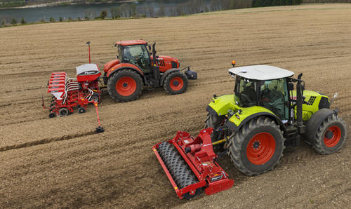 Perfect seed bed preparation with the Kverneland H series